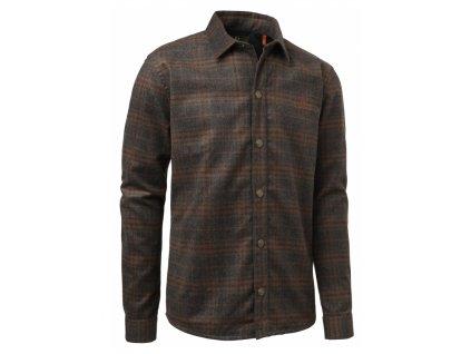 chevalier shegra woolmix shirt ls kosela