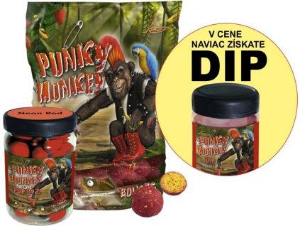 Radical Set Punky Monkey boilies + Neon PopUp + DIP