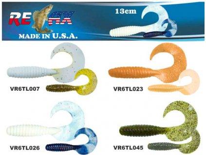 RELAX twister 6 (13cm) cena 1ks/bal5ks