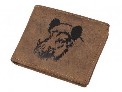 GREENBURRY 1705 Diviak - kožená peňaženka hnedá