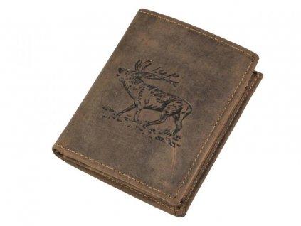 vintage animal geldboerse 25 antikbraun 1169 4