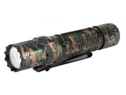 Pre profíkov Top kvalita LED baterka Olight M2R Pro Warrior 1800 lm Camo limitovaná edícia