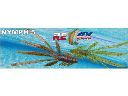 RELAX NYMPH 5 STANDARD 14cm - 5ks v balení cena za 1ks