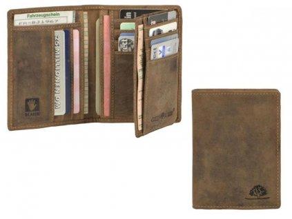 GREENBURRY 1794B - kožený dokladovník