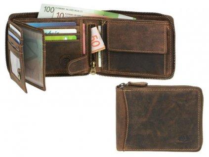 GREENBURRY 1666 - kožená peňaženka
