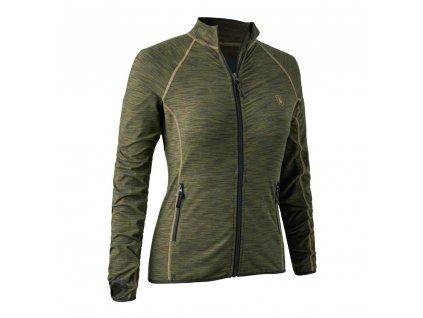 DEERHUNTER Lady Insulated Fleece Green | dámska thermoflíska
