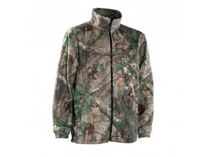 DEERHUNTER Avanti Xtra Green Fleece Jacket | flísová bunda