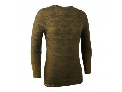 DEERHUNTER Camou Wool Underwear Shirt | termo nátelník