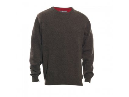 DEERHUNTER Hastings Knit O-neck | vlnený sveter
