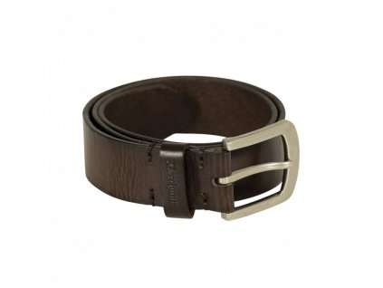 deerhunter leather belt dark brown kozeny opasok