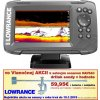 Sonar Lowrance HOOK2-5 HDI Combo SplitShot