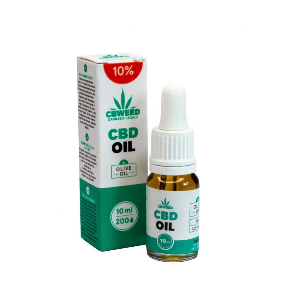 10% CBD Olej / Kapky