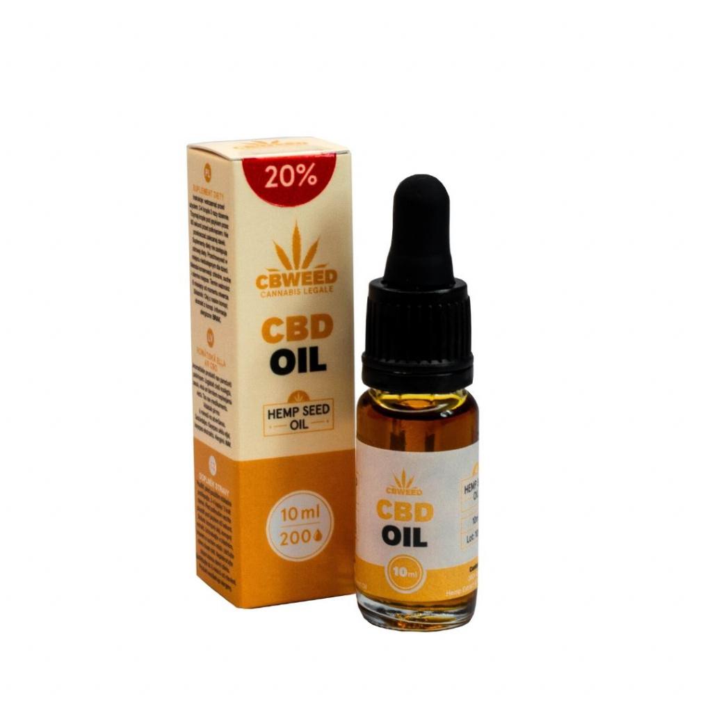 20% CBD Konopný olej / Kapky