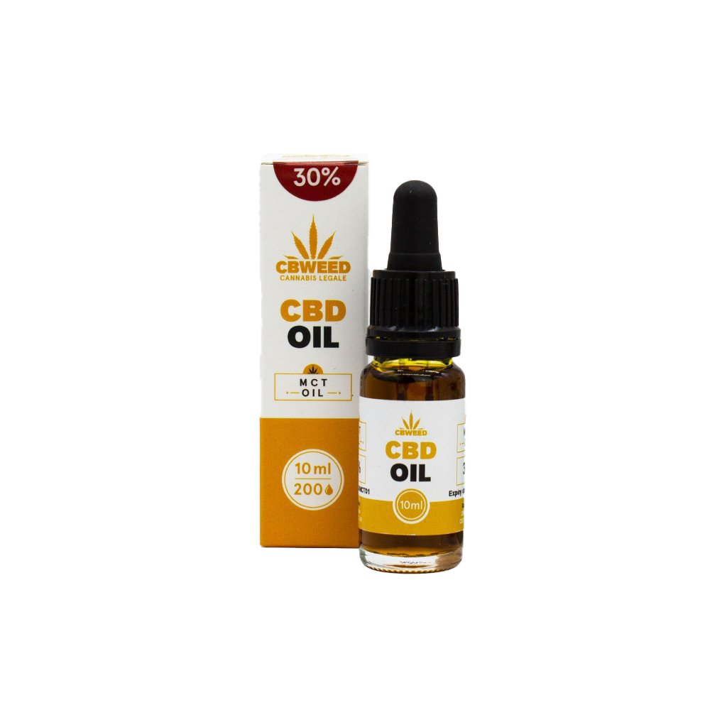 30% CBD - MCT Olej / Kapky