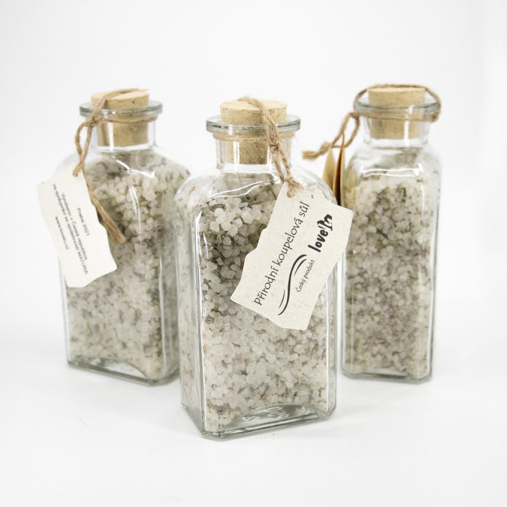 Přírodní koupelová sůl s levandulí
