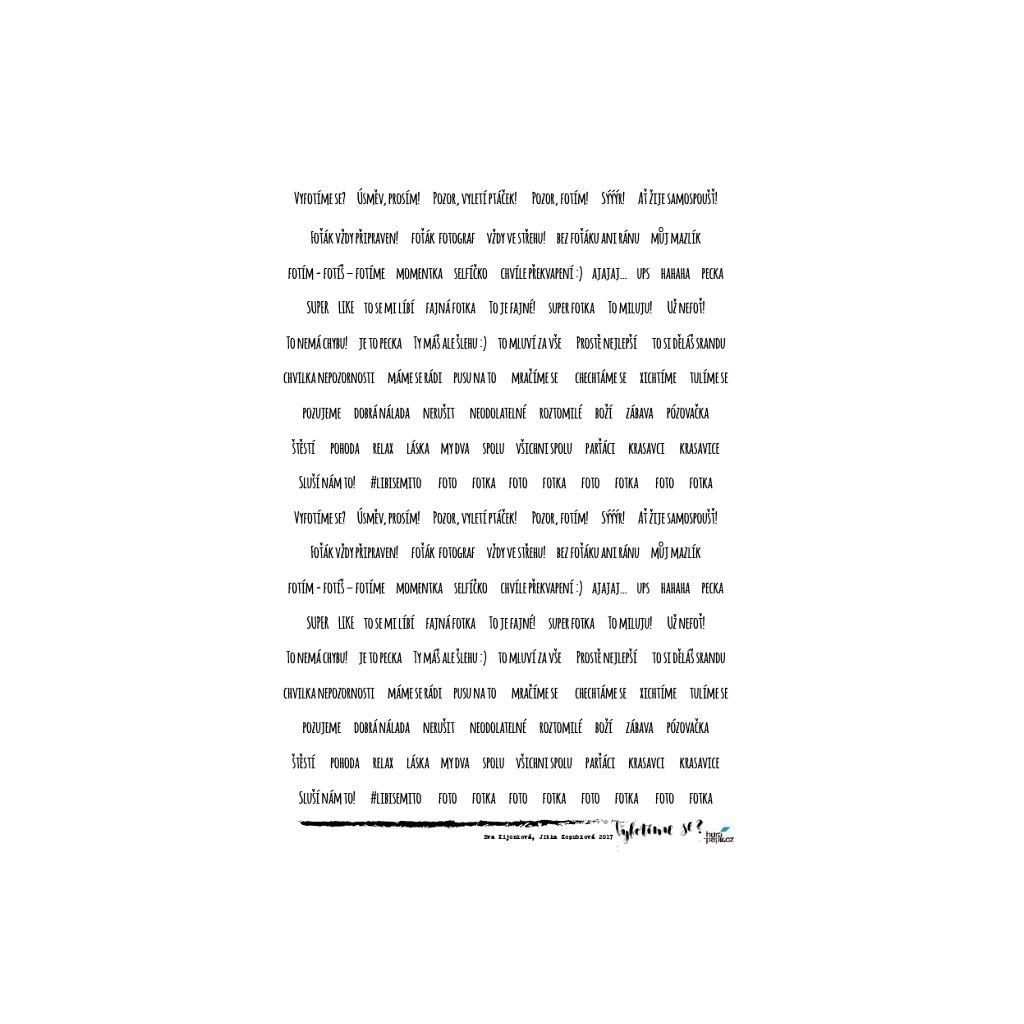 samolepky texty