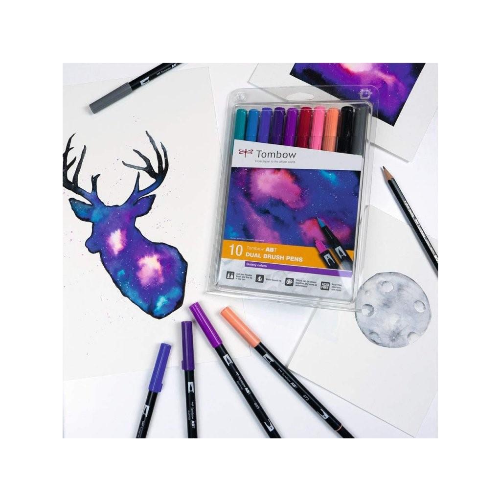 3785 1 tombow dual brush pen sada 10ks galaxy colors 2