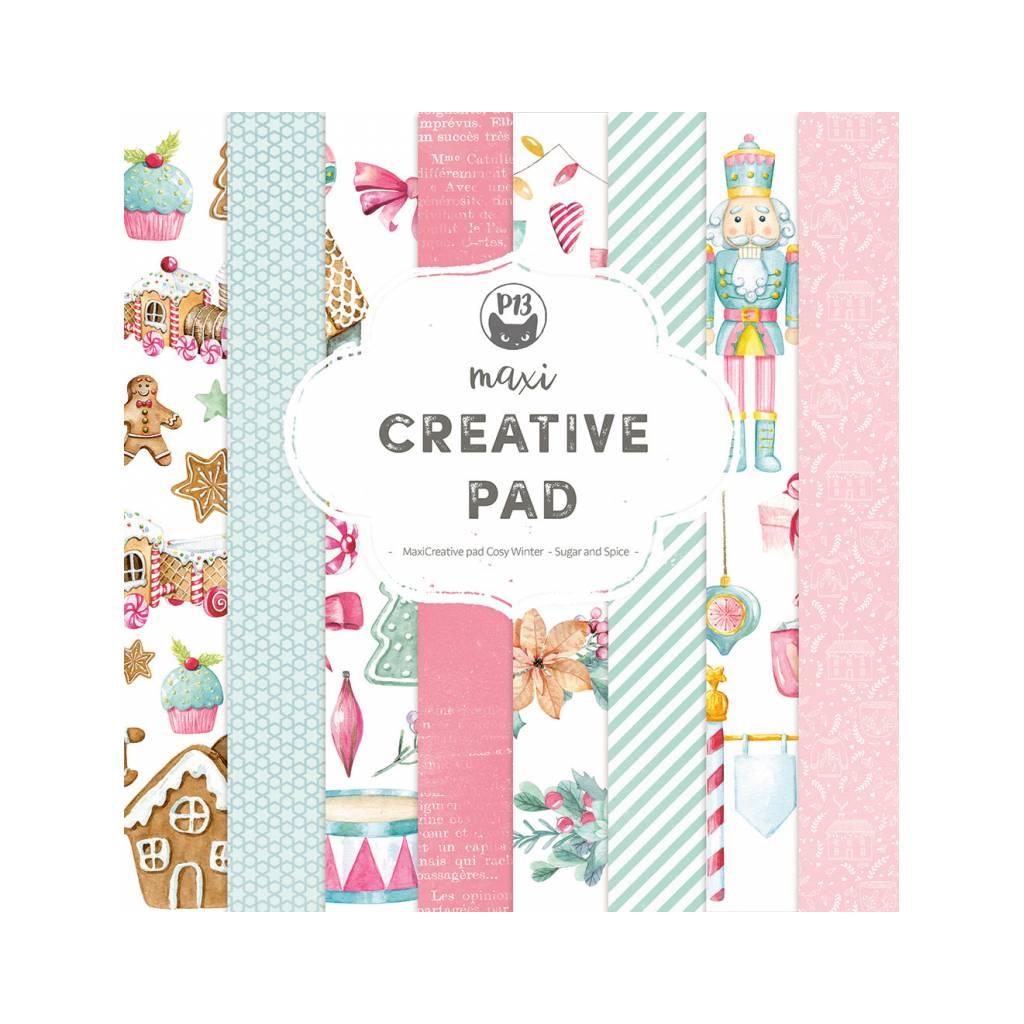 maxi creative pad cosy winter sugar and spice 12x12 (16)