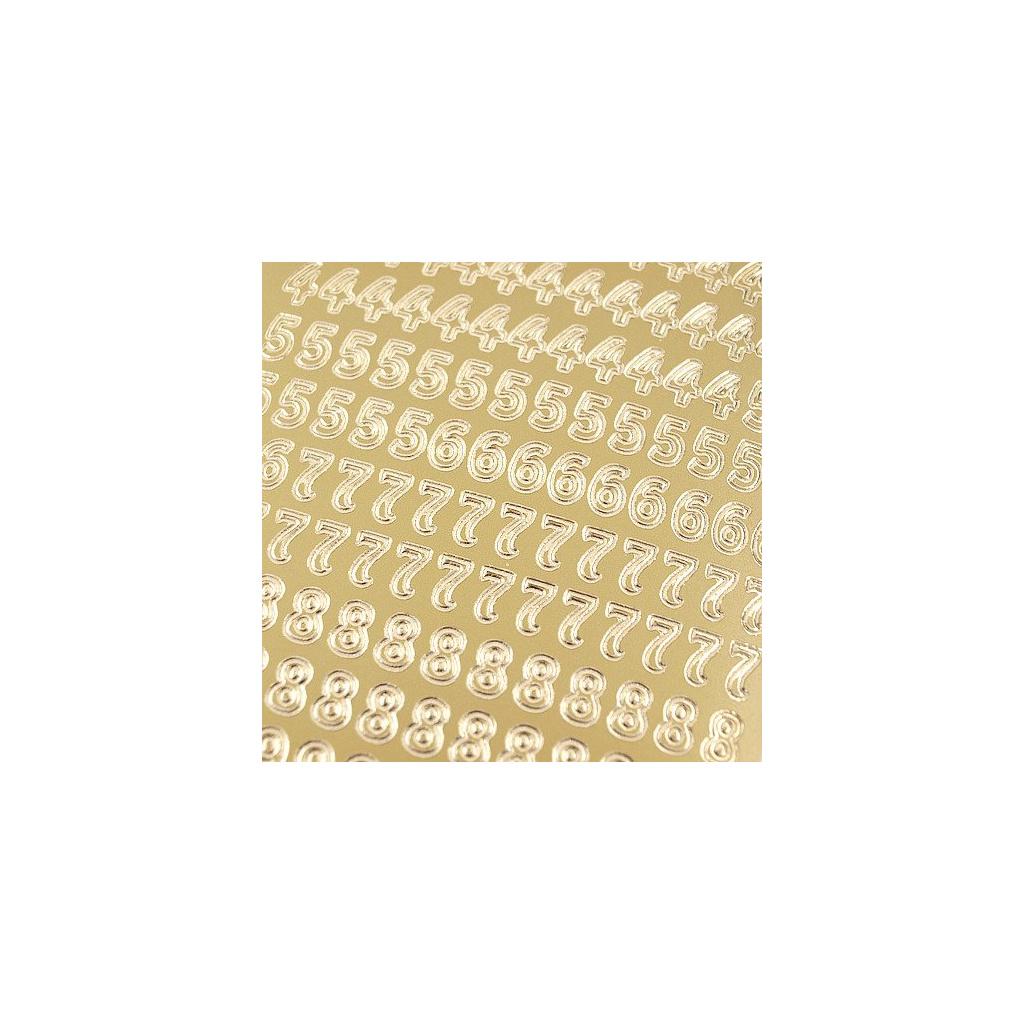 pol pl Stickers azurowy zloty 10x23 cm cyfry 15770 2