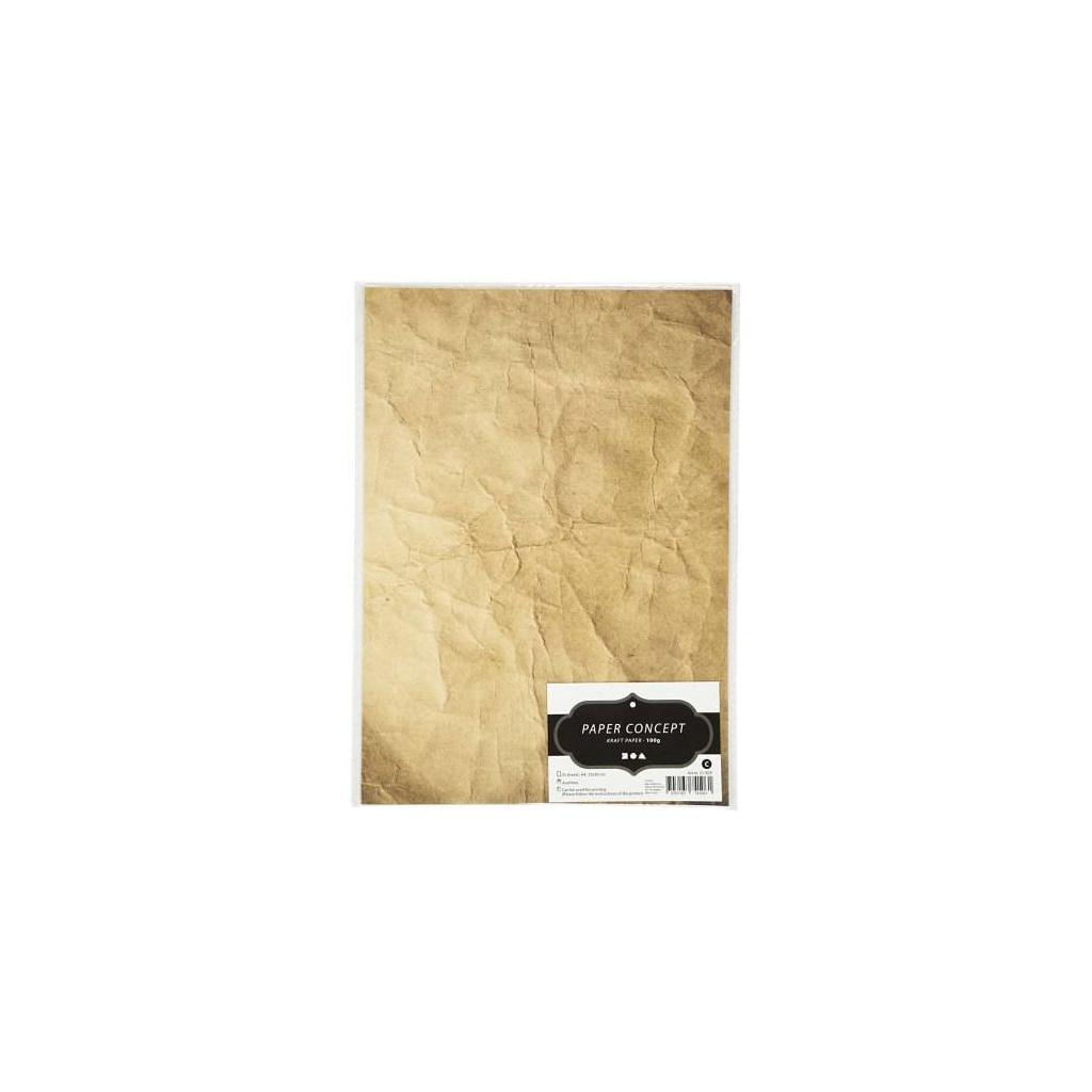 pol pl Papier ozdobny z efektem KRAFT A4 100 g 10 szt 35814 2