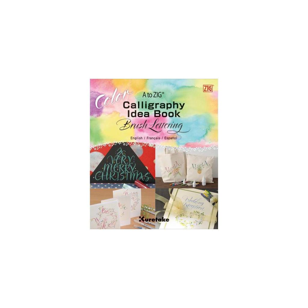 pol pl Ksiazka do kaligrafii Idea Book Brush Lettering ZIG 36088 1