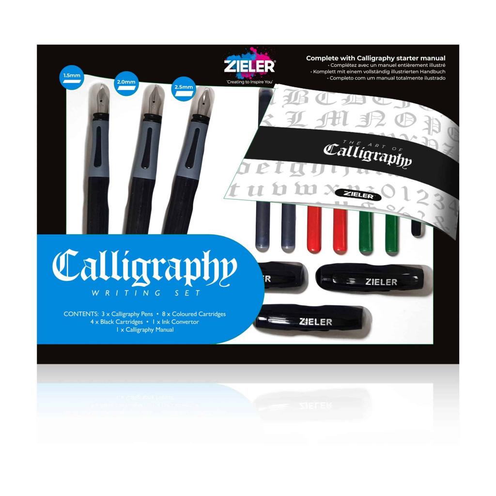 Complete Calligraphy Set Zieler 2 scaled
