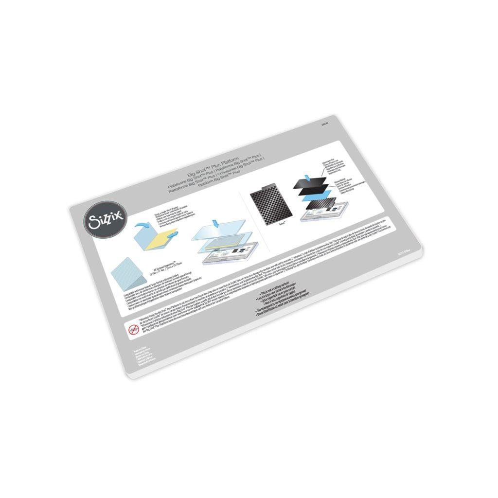 Vyrovnávací deska základní Platform pro Big shot Plus A4