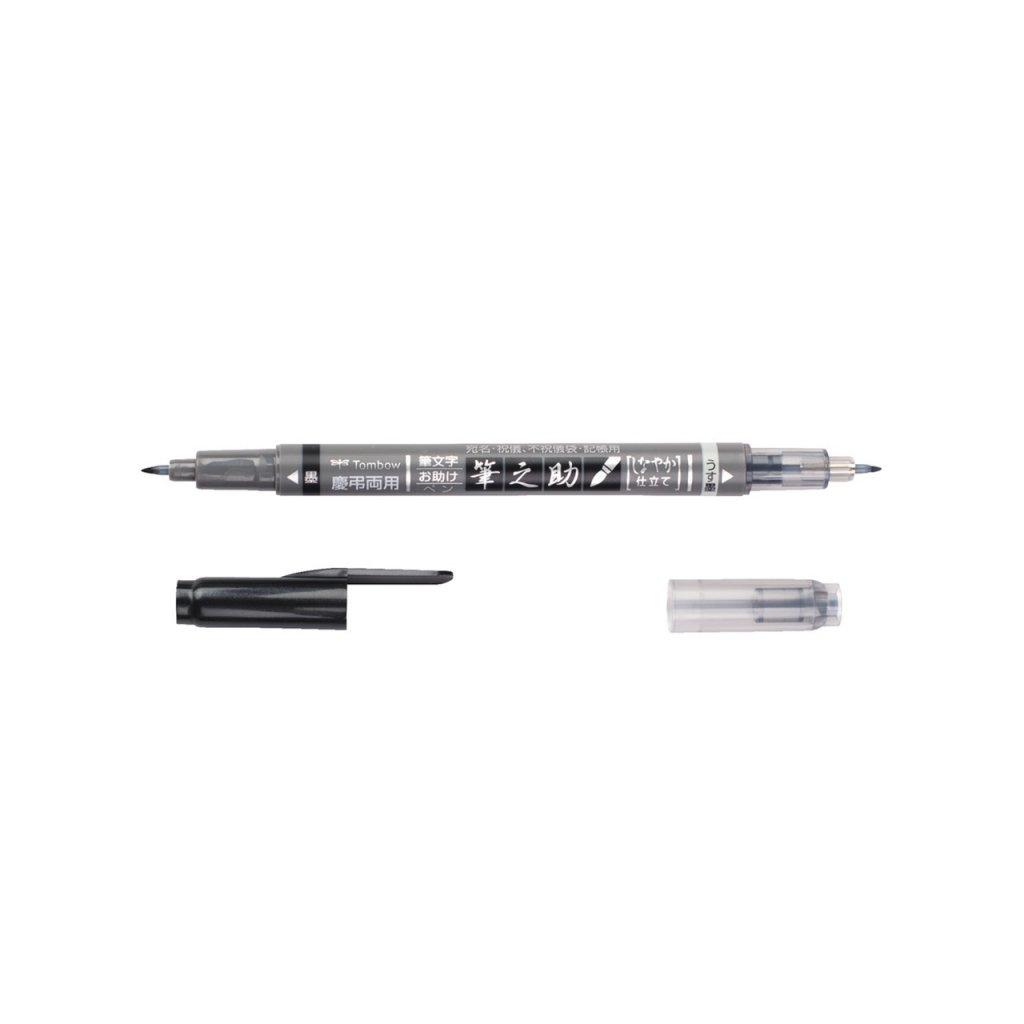 4969 tombow fudenosuke oboustranny brush pen mekky hrot 1
