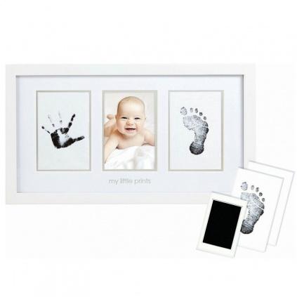 Fotorámeček pro miminko s otisky