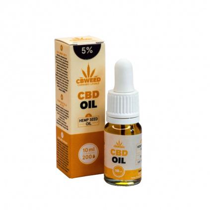 5% CBD Konopný olej / Kapky