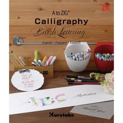 pol pl Ksiazka do kaligrafii Calligraphy Brush Lettering ZIG 36086 1