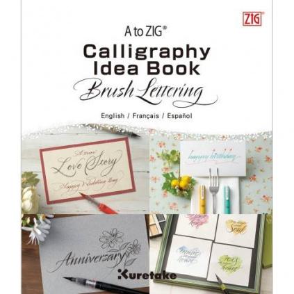 pol pl Ksiazka do kaligrafii Idea Book Brush Lettering ZIG 36087 1