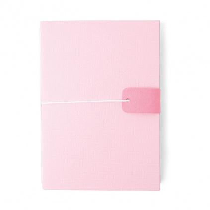 Deník na gumičku - vyřezávací šablona Bigz L