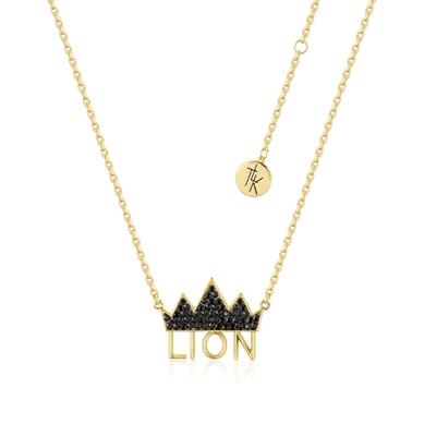 Disney_The_Lion_King_Crown_Necklace_Yellow_Gold_Front_View_DLYN205_400x