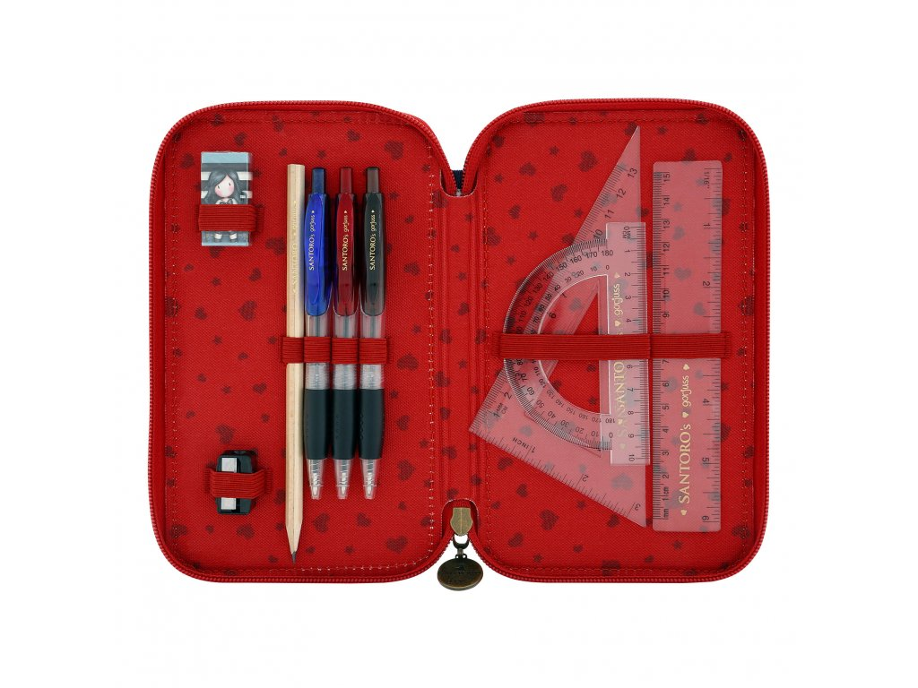 ... 607GJ07 Gorjuss Cityscape Triple Filled Pencil Case My Story 6 WR ... 4101ab817d