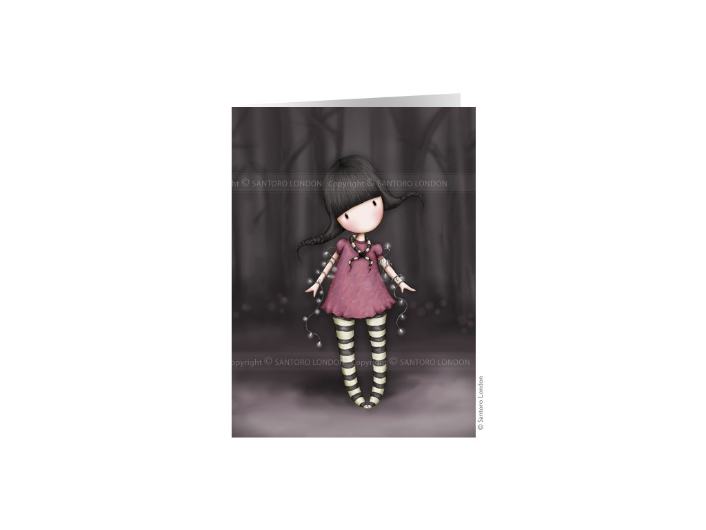 c9b3af6f30 Gorjuss - Přáníčko - Fairy Lights - Lovely Little Shop