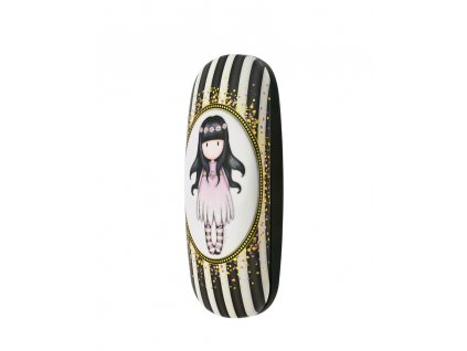 344GJ24 Gorjuss Classic Stripes Glasses Case Oops a Daisy 2 WR