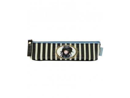 281GJ17 Gorjuss Classic Stripes Slim Accessory Case The Hatter 2 WR