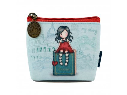 565GJ11 Gorjuss Cityscape Coin Purse My Story 1 WR