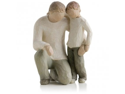 willow tree father and son fatherhood family figurine root 26030 1470 1