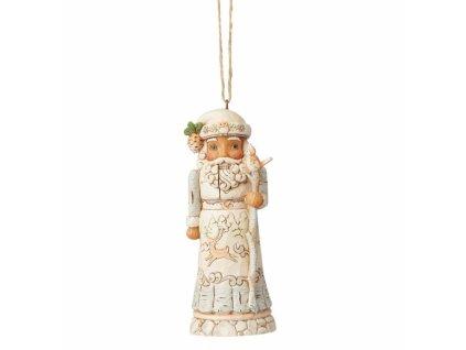 White Woodland Nutcracker (Ornament)