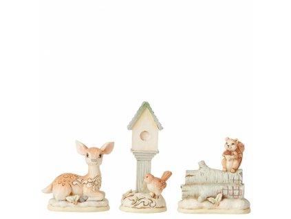 White Woodland Mini Set