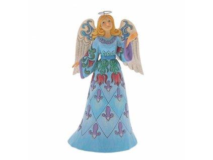 Touched with Wonder (Winter Wonderland Blue Angel)
