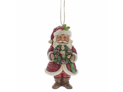 Winter Wonderland Santa (Ornament)