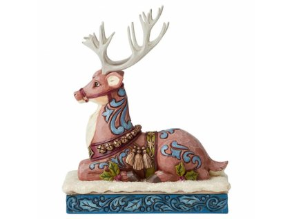 Calm Before The Eve (Victorian Reindeer)
