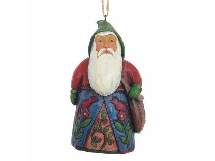Folklore Santa With Bag (Ornament)