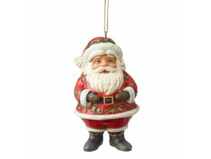 Mini Jolly Santa (Ornament)