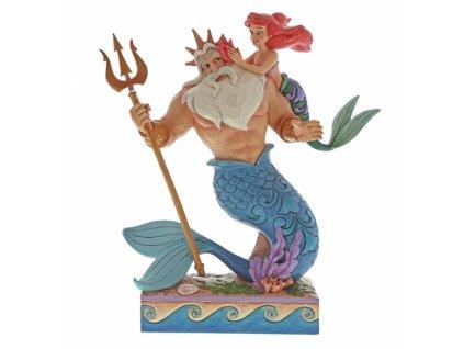 Disney Traditions - Daddy's Little Princess (Ariel & Triton)