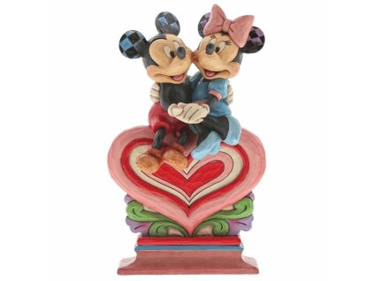 Disney Traditions - Heart to Heart (Mickey Mouse & Minnie Mouse