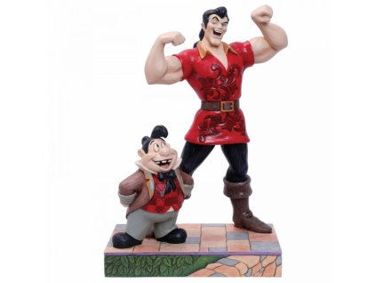 Disney Traditions - Muscle-Bound Menace (Gaston and Lefou